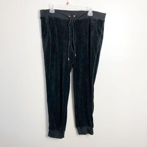 Juicy Couture Velour Track Pant Joggers